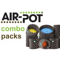 Combo Pack 2:  Ten 1 L Prop Pots, Two 4 L Seed Trays, Three Each of 3 L and 9 L Air-Pot Containers