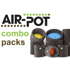 Combo Pack 1: One Each of  1 L Prop Pot, 4 L Seed Tray, 3 L and 9 L Air-Pot Containers